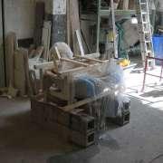 3 installation en vue du remplissage