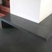 banc en béton - Coppet 2005 - Thierry Moreillon Architecte