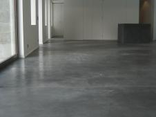 bar cube et chape béton- Transformation d'une orangerie - Geneve-Bellevue 2006 - Ganz & Müller Architectes