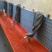 bassins béton teinté école allemande LP2 architectes associés