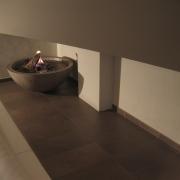 cheminée en demi-sphère - Conches 2007 - Catherine Kössler Architecte