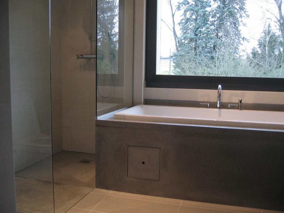 habillage de baignoire et douche a l'italienne Collonges 2004