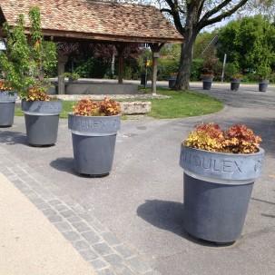 jardinières personnalisées - Henchoz architectes
