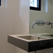 lavabo en béton - design Marc Calame
