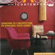 espaces contemporains - avril 2008